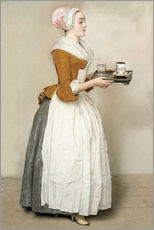 Gallery print  The Chocolate Girl - Jean Etienne Liotard