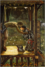 Wall Stickers  The Merciful Knight - Edward Burne-Jones