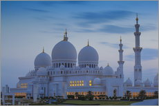 Gallery Print  Sheikh Zayed Grand Mosque - Jane Sweeney