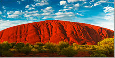 Wall sticker  Uluru (Ayers Rock) - Giles Bracher