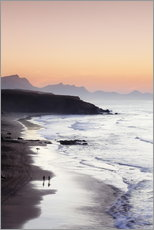 Gallery Print  View from Playa del Viejo to the Peninsula of Jandia, La Pared - Markus Lange