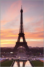 Wall Stickers  Eiffel Tower at sunrise - Markus Lange