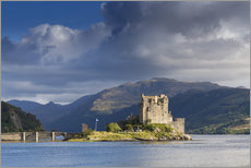 Wall sticker  Eilean Donan Castle - Alex Robinson