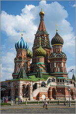 Gallery Print  St. Basil's Cathedral, Moscow - Michael Runkel