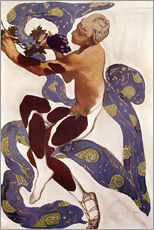 Gallery print  Afternoon of a Faun - Leon Nikolajewitsch Bakst