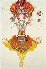 Gallery print  Ballet Costume for 'The Firebird' - Leon Nikolajewitsch Bakst