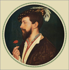Wall Sticker  Simon George of Cornwall - Hans Holbein d.J.