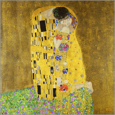 Wall Stickers  The kiss - Gustav Klimt