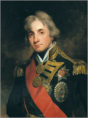 Wall sticker  Admiral Sir Horatio Nelson - George Peter Alexander Healy