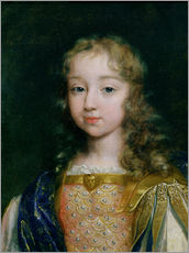Gallery print  Louis XIV as a child - French School