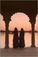 Wall Sticker  Indian Women, Jaisalmer - Douglas Pearson