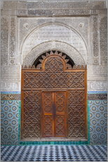 Gallery print  Door of the Medersa Bou Inania, Fes - Douglas Pearson