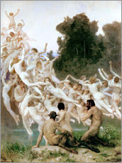 Gallery print  The Oreads - William Adolphe Bouguereau