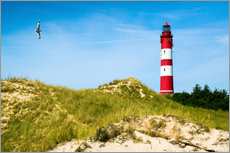 Gallery Print  Amrum Lighthouse - Reiner Würz RWFotoArt