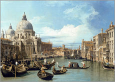 Gallery print  Entrance to the Canal Venice - Bernardo Bellotto (Canaletto)