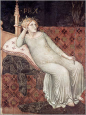 Wall sticker  Detail From Allegory And Effects Of Good And Bad Government - Ambrogio Lorenzetti