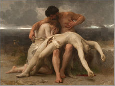 Gallery print  The First Mourning - William Adolphe Bouguereau