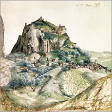 Gallery print  View of the Arco Valley in the Tyrol - Albrecht Dürer