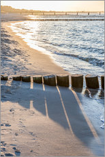 Wall sticker  Sunset on the Baltic Sea - Christian Müringer