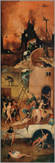 Gallery print  The Hay Wain, hell - Hieronymus Bosch