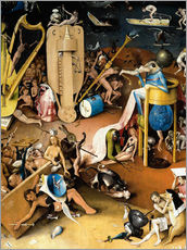 Wall sticker  Garden of Earthly Delights, Hell (detail) - Hieronymus Bosch