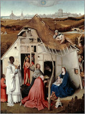 Wall sticker  Adoration of the Magi - Hieronymus Bosch