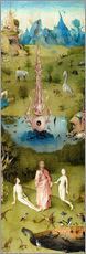 Wall sticker  Garden of Earthly Delights, the paradise - Hieronymus Bosch