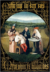 Wall Stickers  Cutting the stone - Hieronymus Bosch