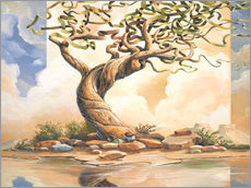 Wall sticker  The Old Tree - Georg Huber