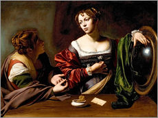 Wall sticker  Martha and Mary Magdalene - Michelangelo Merisi (Caravaggio)