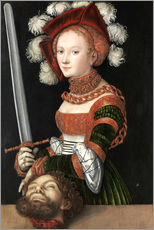 Gallery print  Judith with the Head of Holofernes - Lucas Cranach d.Ä.