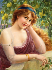 Gallery print  The lemon trees - Emile Vernon