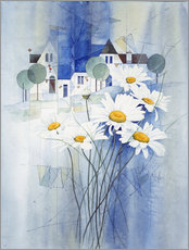 Franz Heigl - View with marguerites