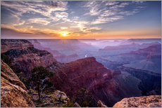 Gallery print  Sunset at Grand Canyon - Daniel Heine