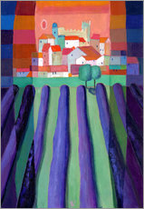 Gallery Print  lavender fields - Eugen Stross