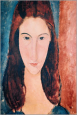 Gallery print  Portrait of a Young Girl - Amedeo Modigliani