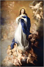 Wall sticker  Immaculate Conception of Mary - Bartolome Esteban Murillo