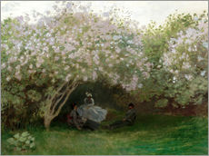 Wall Stickers  Lilac in the Sun - Claude Monet