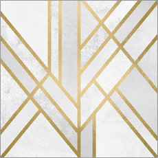 Wall sticker Art deco geometry