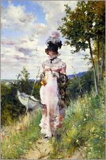 Gallery Print  The Summer Stroll - Giovanni Boldini