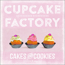 Wall sticker  Cupcake Factory - Andrea Haase