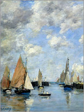Gallery Print  The Jetty at High Tide - Eugène Boudin