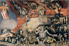 Wall sticker  Last Judgement - Giotto di Bondone