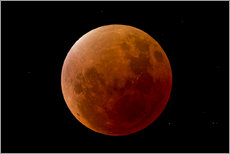 Gallery print  Blood Moon September 2015 - MonarchC