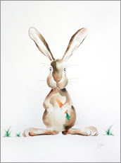Wall sticker Hase