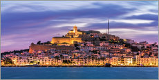 Gallery print  The castle of Ibiza - Fine Art Images