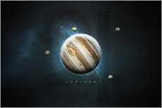 Wall sticker  Solar System Jupiter - Tobias Roetsch