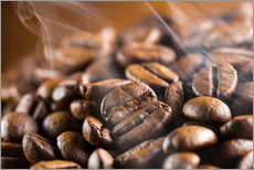 Wall Stickers fresh roasted coffee beans