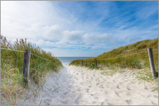Gallery Print  the path to the sea - Hannes Cmarits