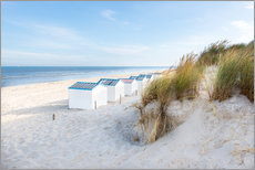 Gallery print  North Sea beach, De Koog - Hannes Cmarits